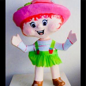 Strawberry shortcake  handmade piñata!